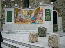 Μαρμάρινη Επένδυση Μνημείου Απ. Παύλου